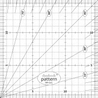 Линейка Pattern SR-1515